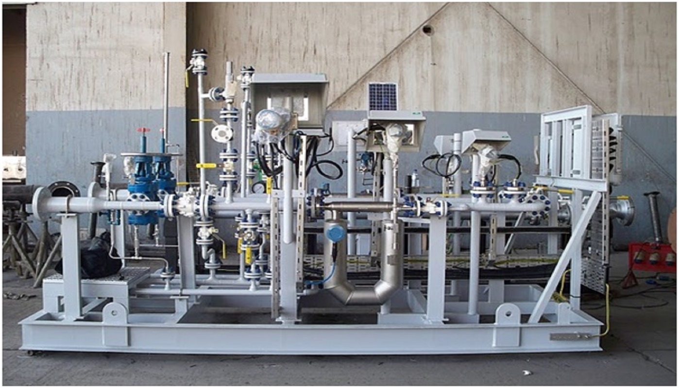 fabrication of skid type complete system