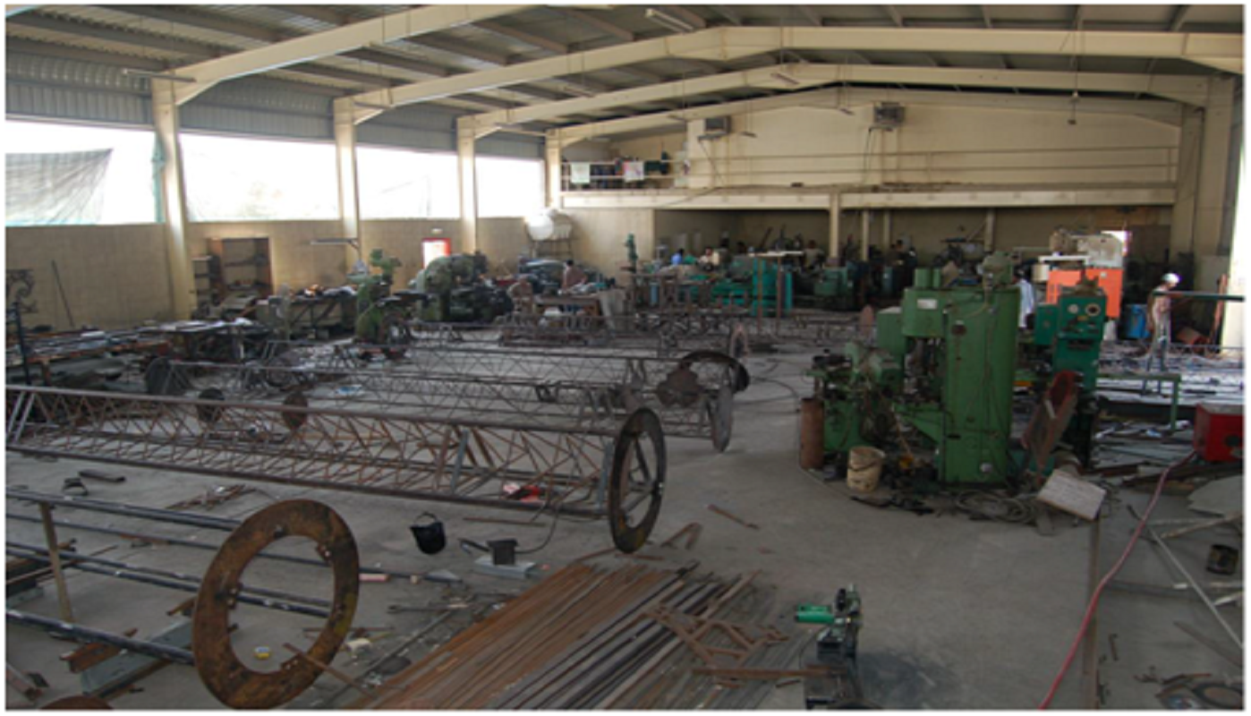 fabrication of towers